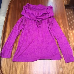 Lole casual turtleneck top. Womens small. Like new